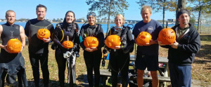 DIVERS TWO FALL CLEAN UP FESTIVAL 2020 & UNDERWATER PUMPKIN CARVING @ Maclearie Park Belmar