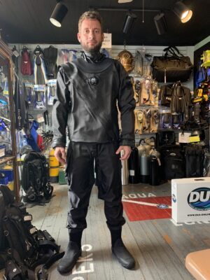 Cristian also picked up his NEW DUI custom suit!